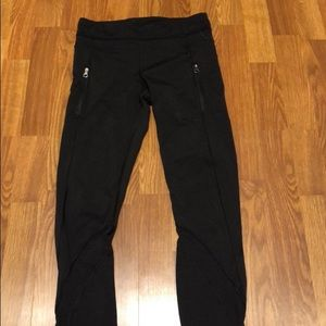 Classic zipper front pocket pants